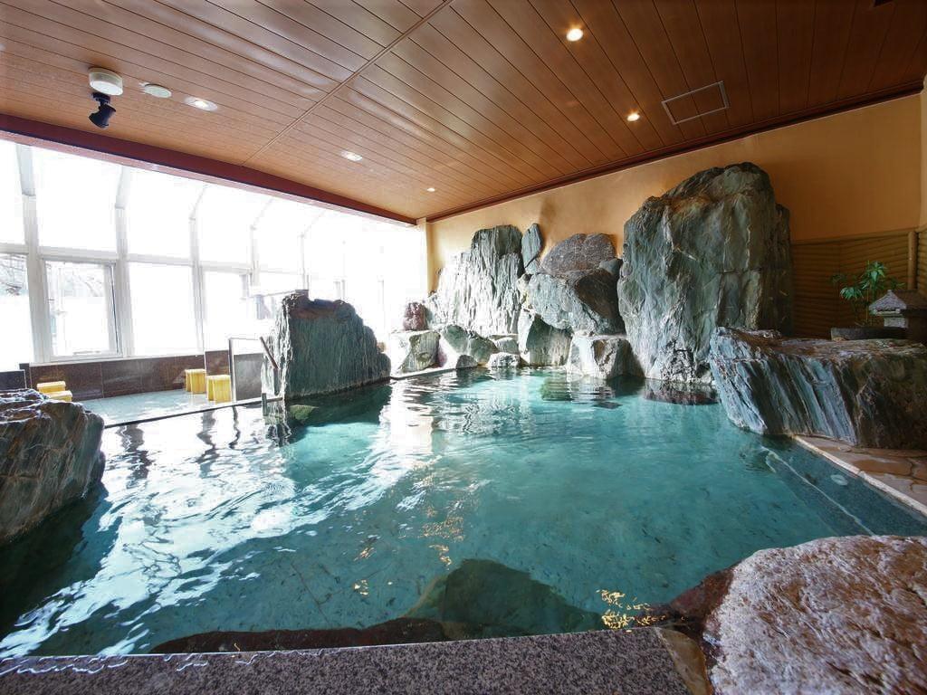 河口湖富士吟景內風呂大浴場