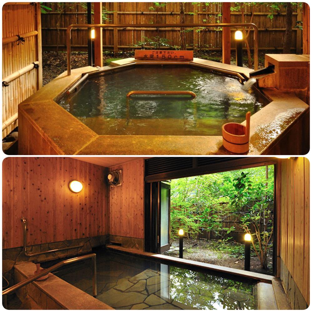 黑川山彥旅館私人風呂