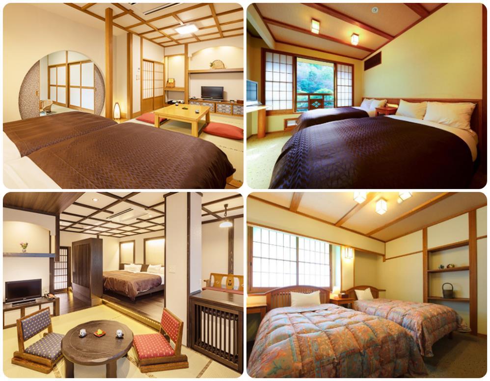 黑川溫泉山彥旅館和洋室