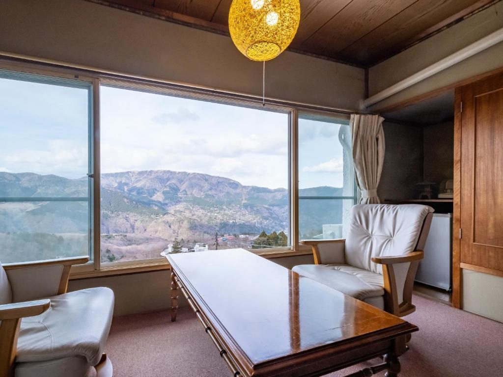 箱根溫泉山田家和室窗景