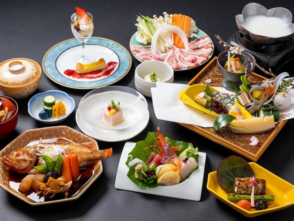 箱根溫泉山田家春夏晚餐會席料理