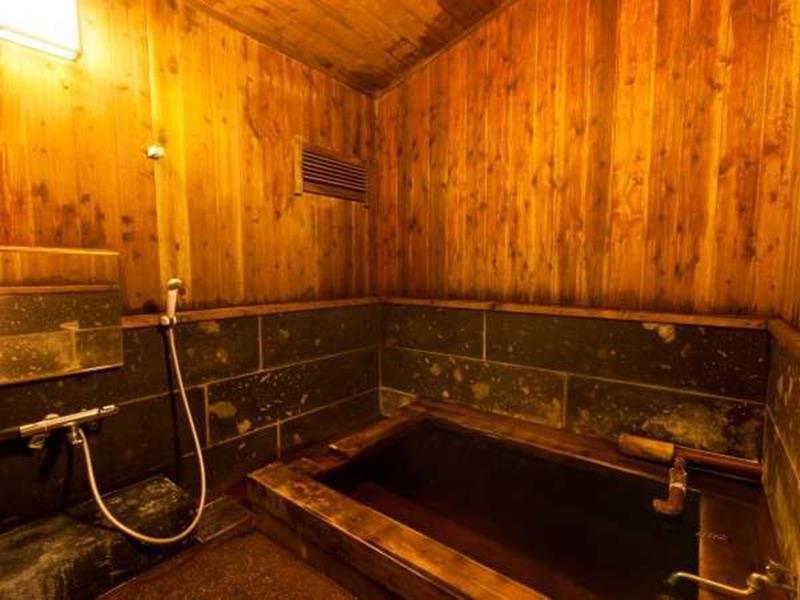 黑川溫泉御客屋旅館私人家族風呂