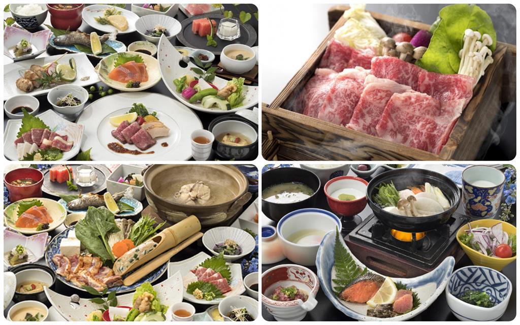 黑川溫泉御客屋晚餐會席料理