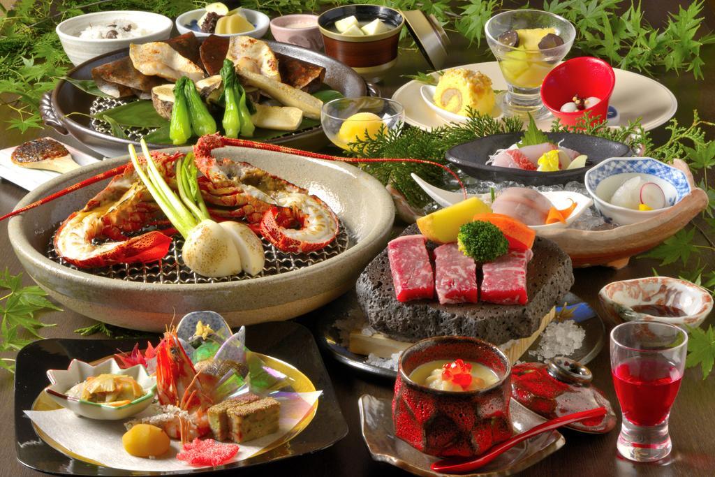 箱根溫泉星之光旅館晚餐料理