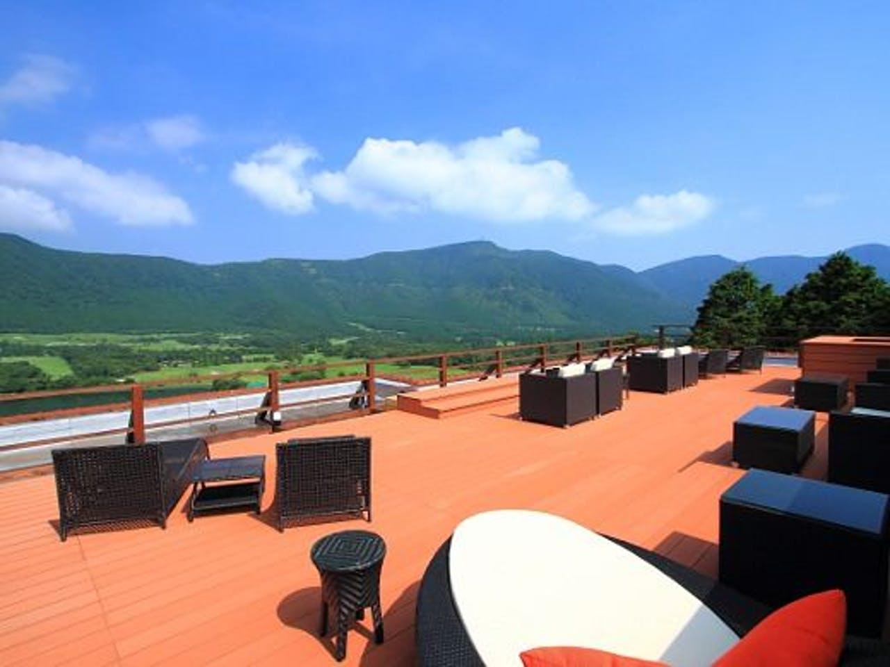 箱根溫泉星之光旅館屋頂觀景台