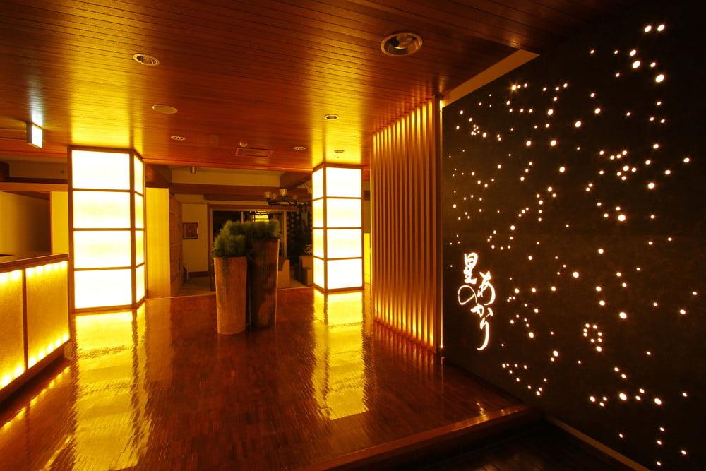 箱根溫泉星之光旅館大廳
