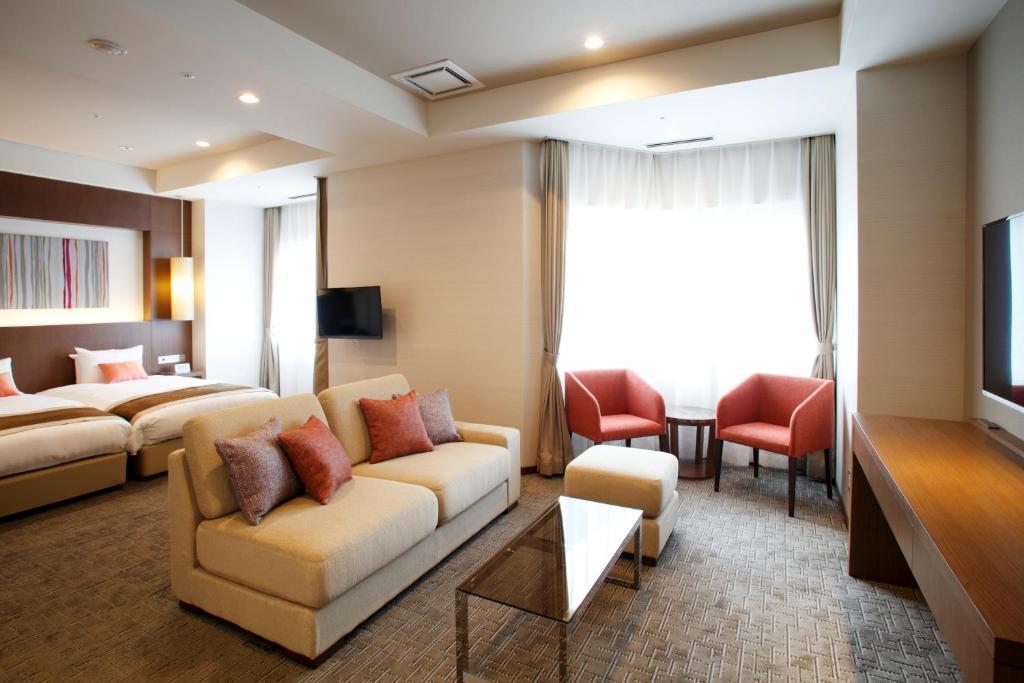 登別格蘭飯店好萊屋式雙床房