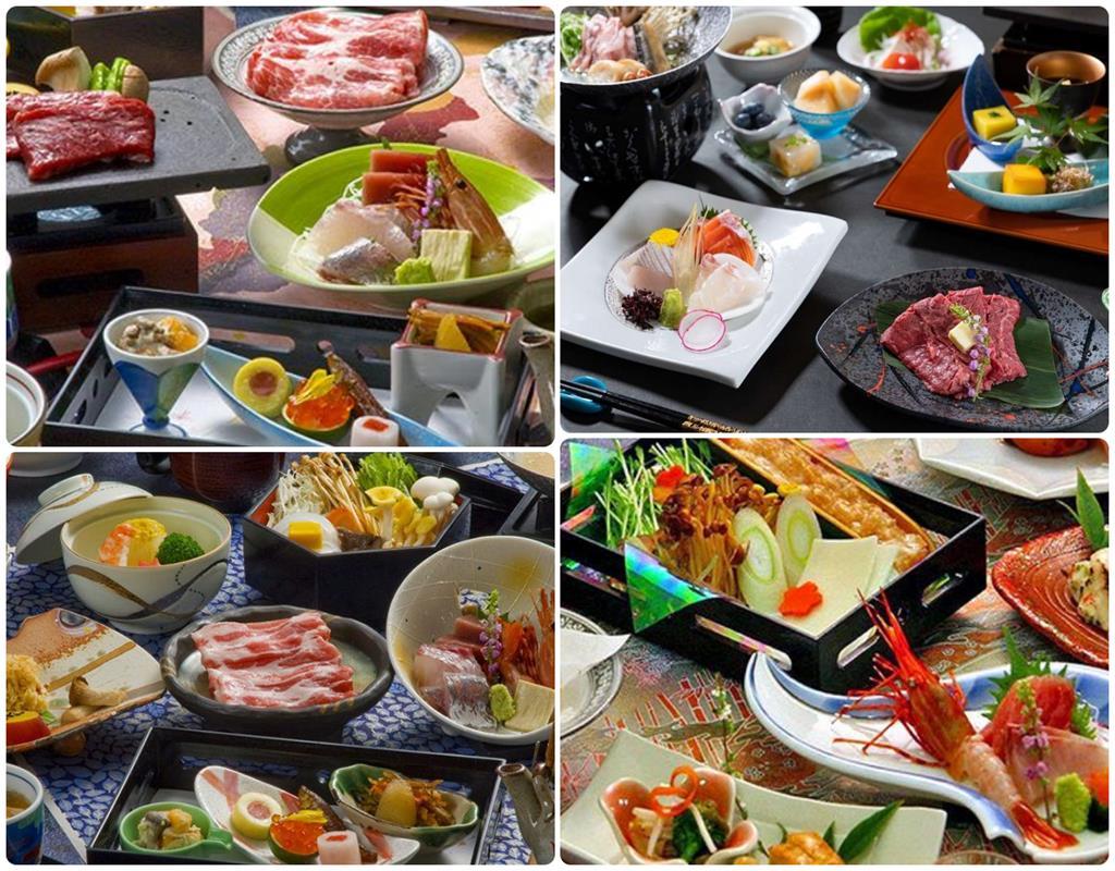 河口湖大池飯店晚餐料理
