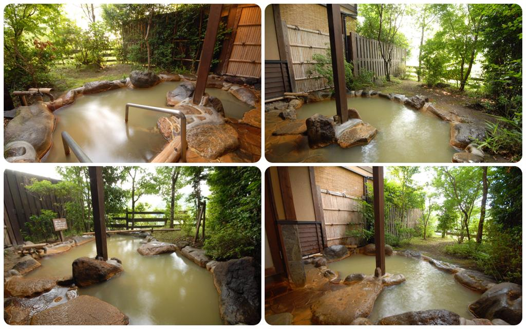 黑川溫泉Kounoyu旅館雙層別墅型和室露天風呂