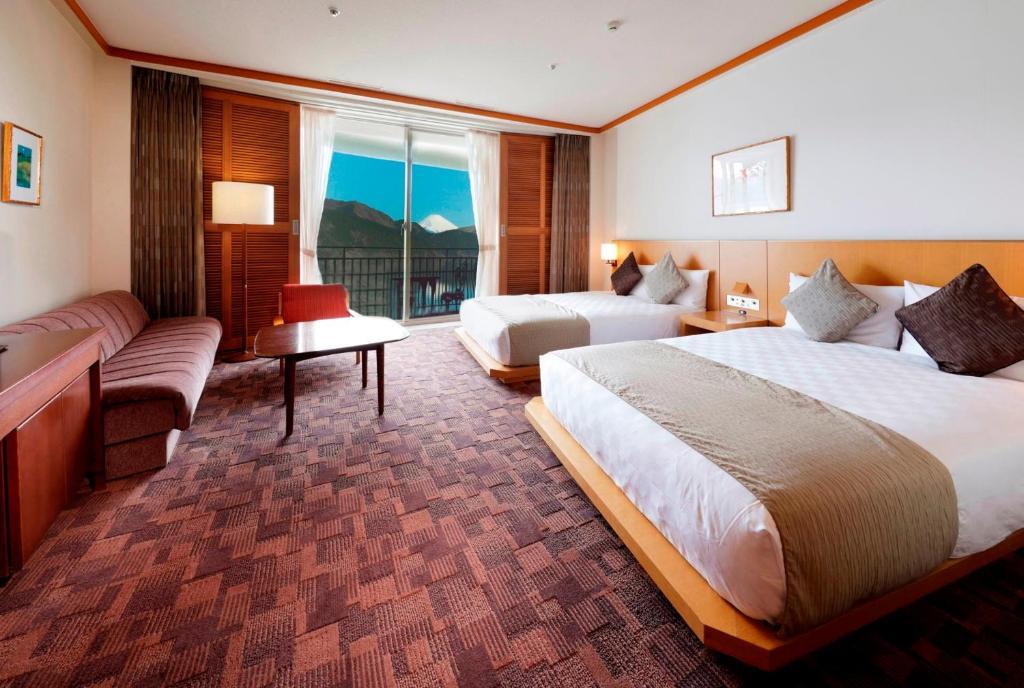 箱根蘆之湖王子大飯店富士山景觀套房