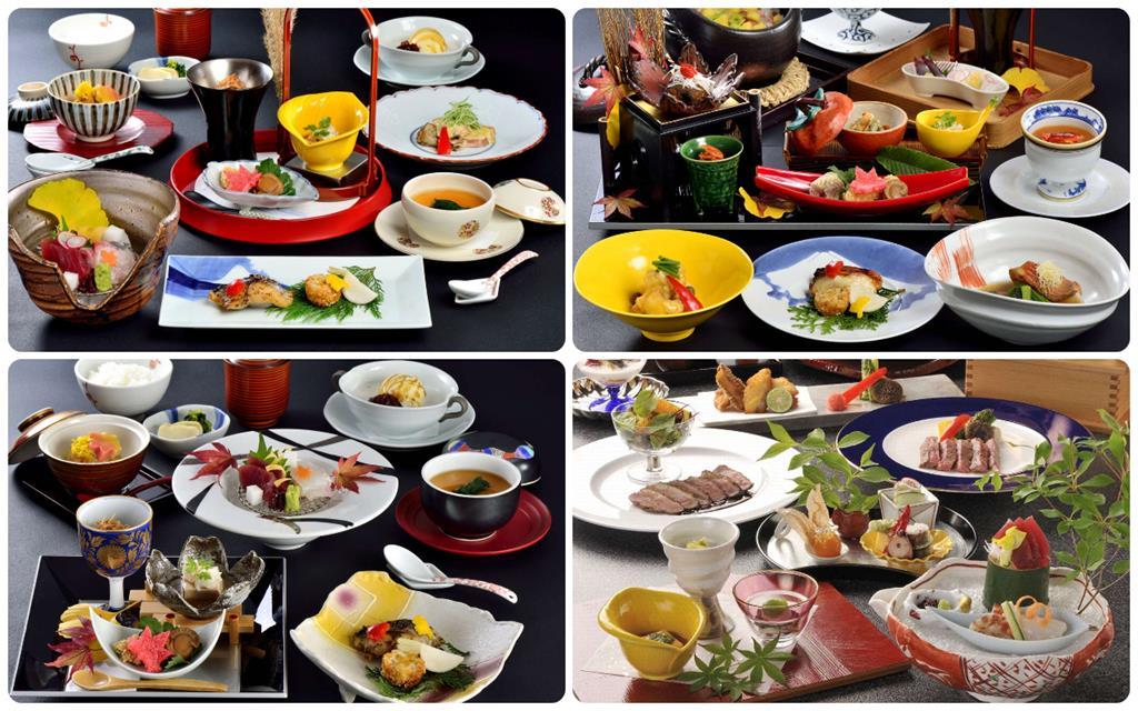 箱根蘆之湖王子大飯店日式餐廳
