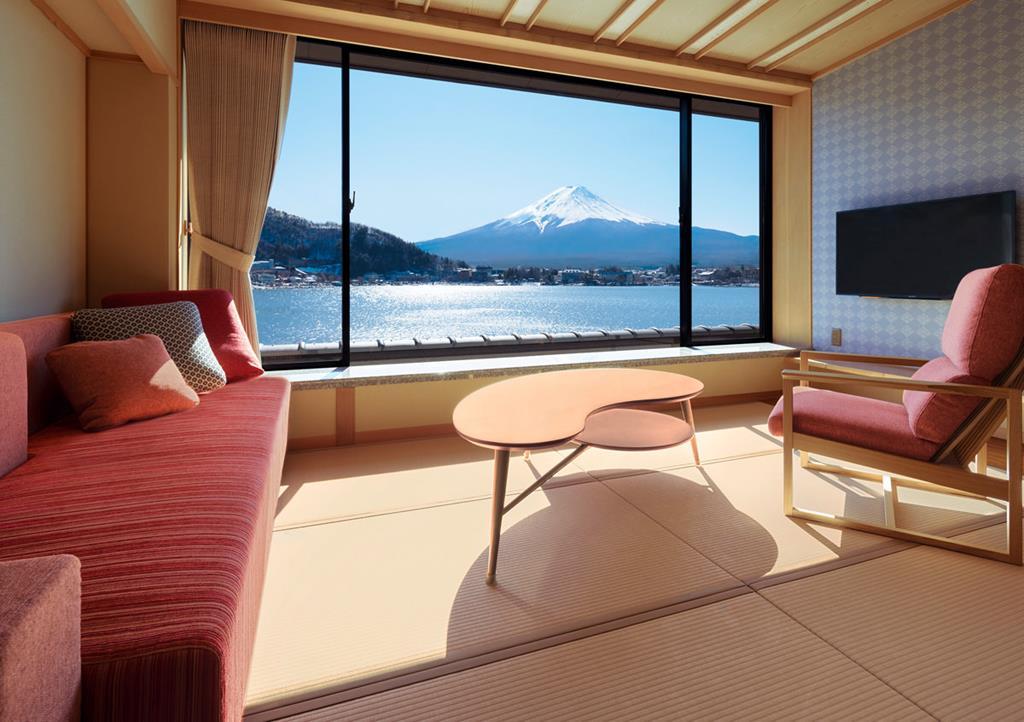 富士河口湖住宿產屋旅館