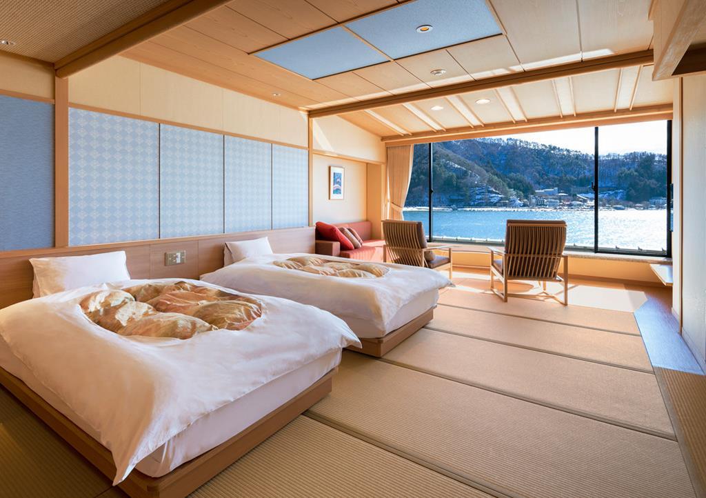 河口湖產屋旅館和室