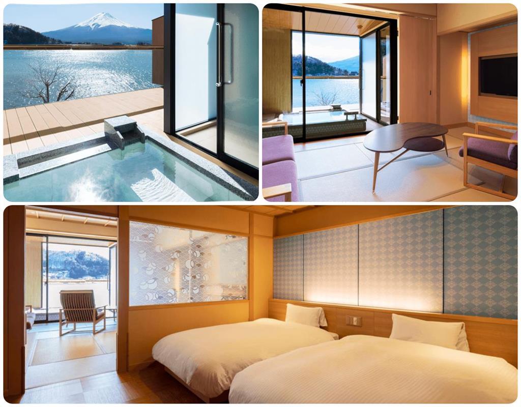 河口湖產屋旅館標準房附露天風呂