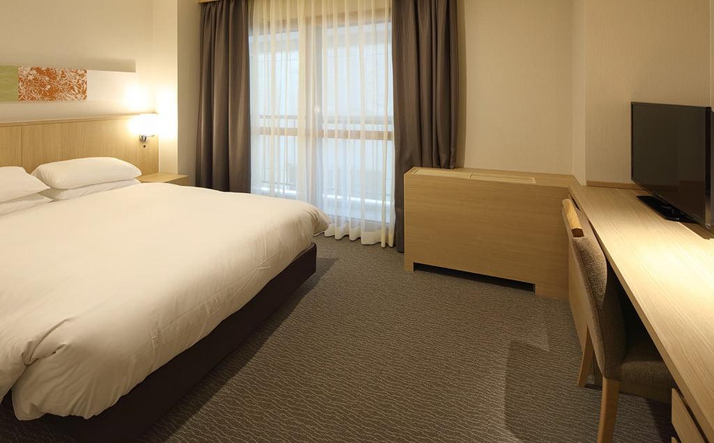 登別第一滝本館飯店東館雙人床房