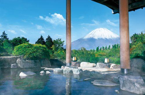 箱根綠色廣場飯店露天風呂富士山景
