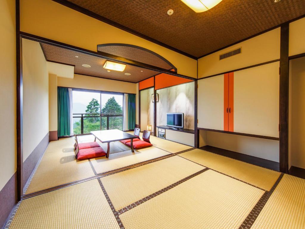 箱根溫泉綠色廣場飯店富士山景和室