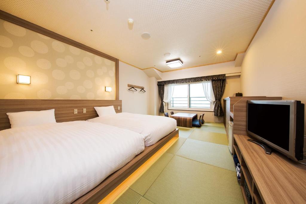 箱根溫泉綠色廣場飯店和洋室