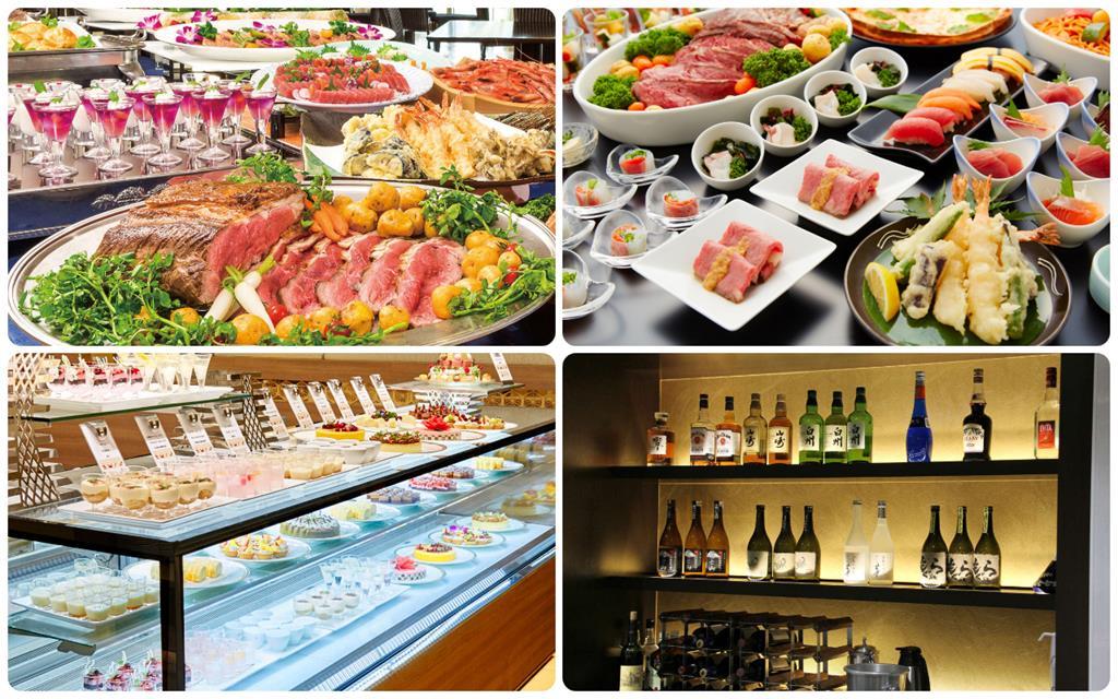 箱根溫泉綠色廣場飯店晚餐Buffet