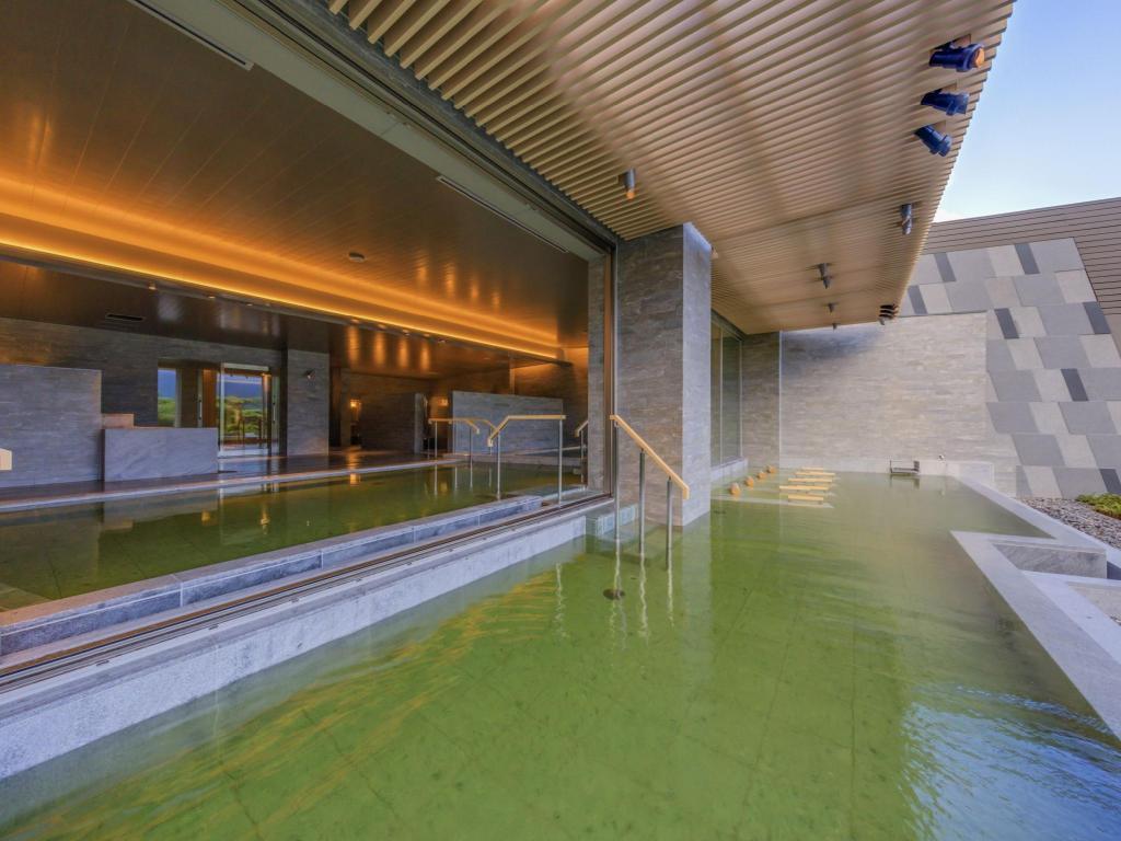 箱根溫泉花織飯店棚湯