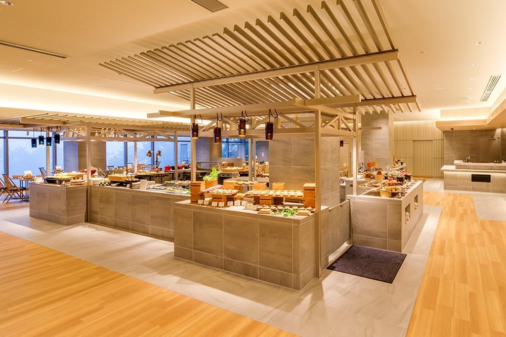 箱根溫泉花織飯店晚餐吃到飽Buffet