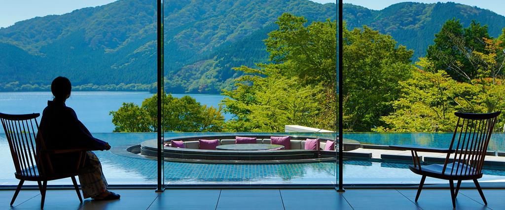 箱根溫泉花織飯店水盤