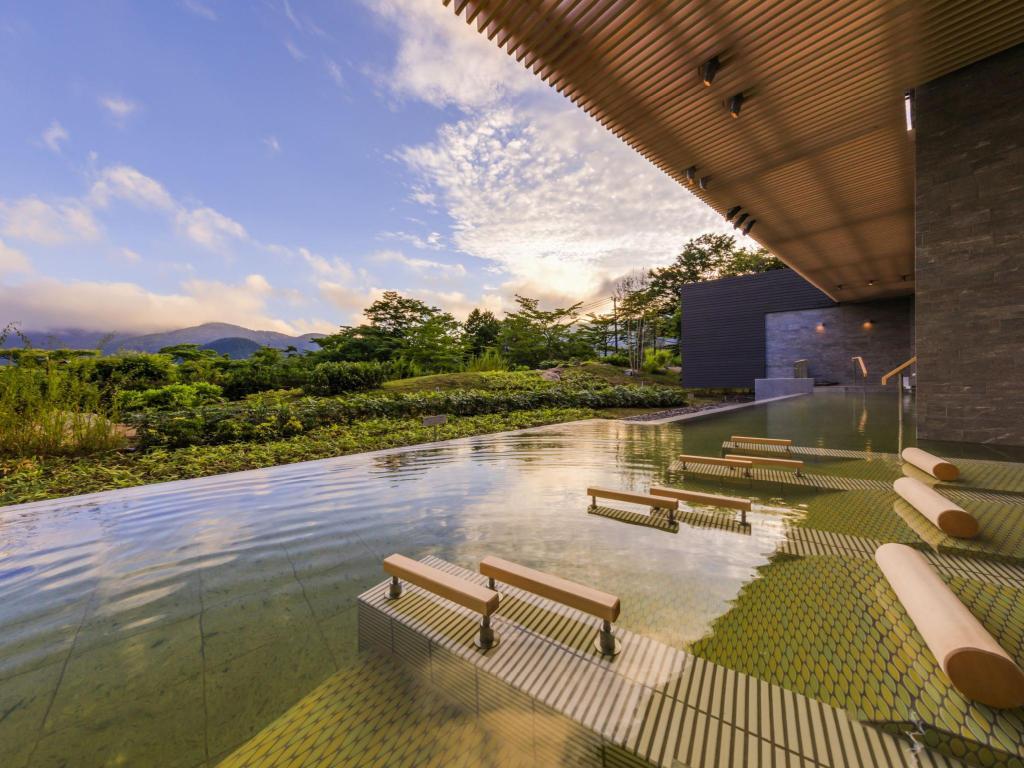 箱根溫泉花織飯店寢湯