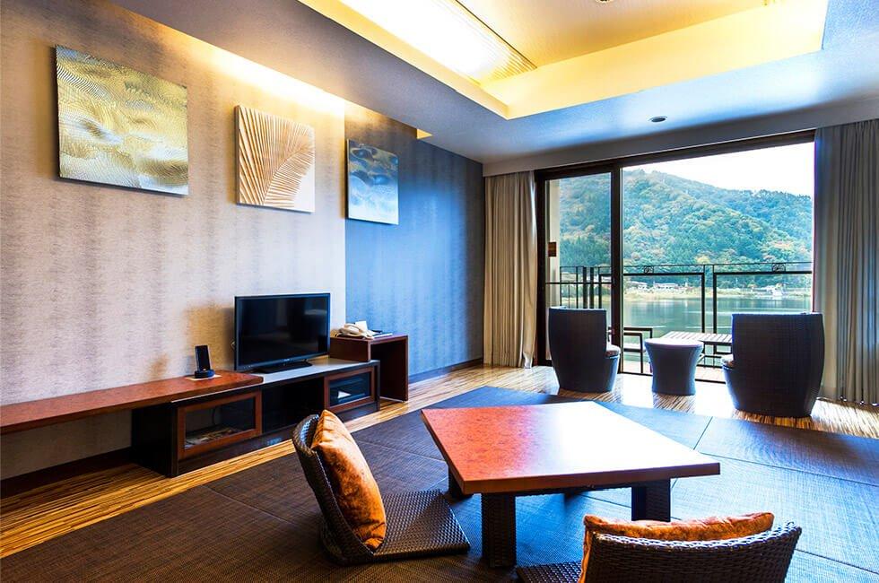 河口湖KUKUNA飯店中央館和室