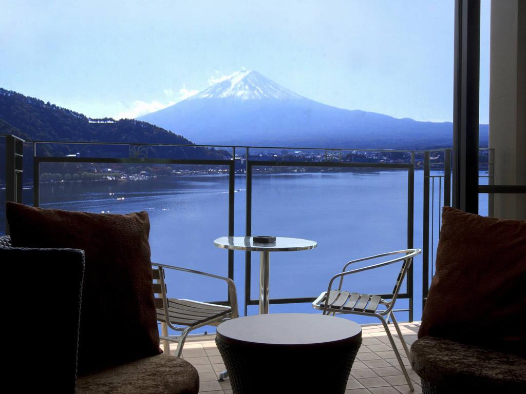 富士河口湖飯店KUKUNA房間景