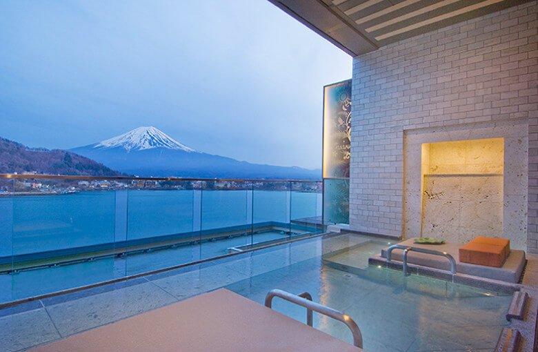 河口湖KUKUNA飯店展望館高級房附露天風呂