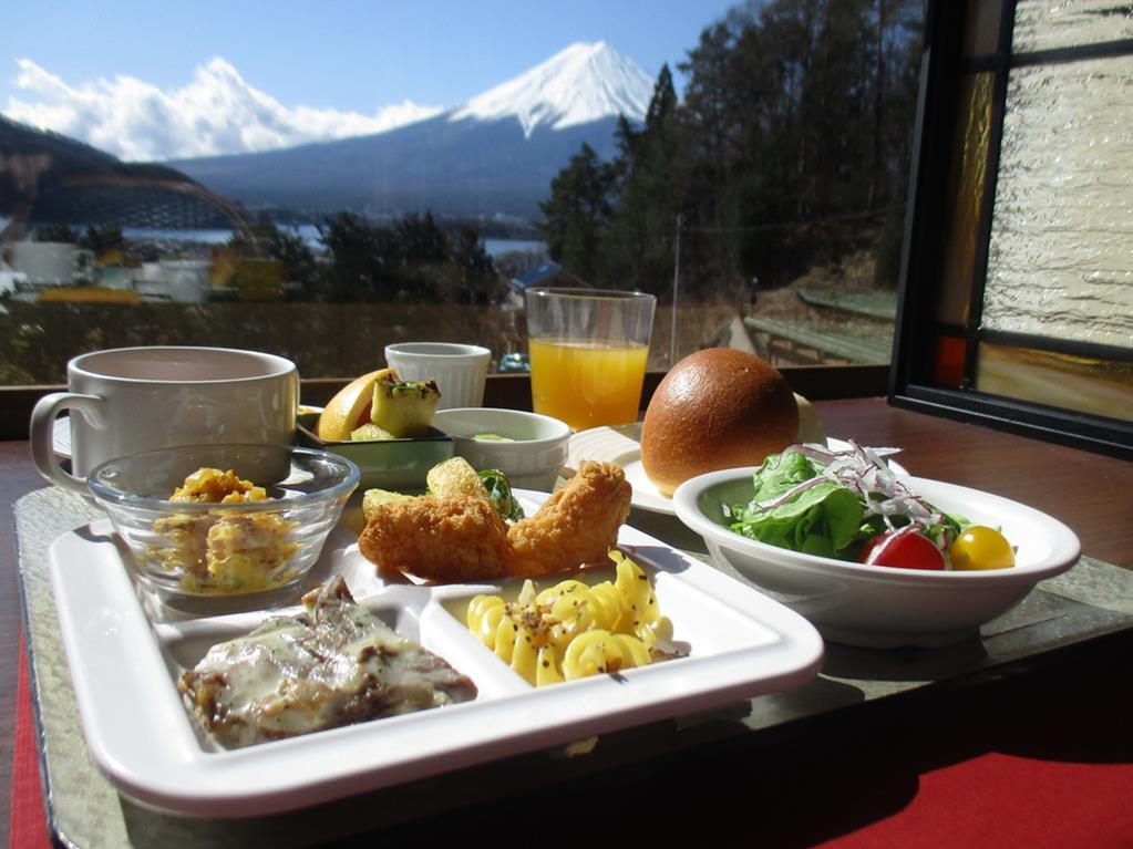 河口湖La Vista 飯店早餐
