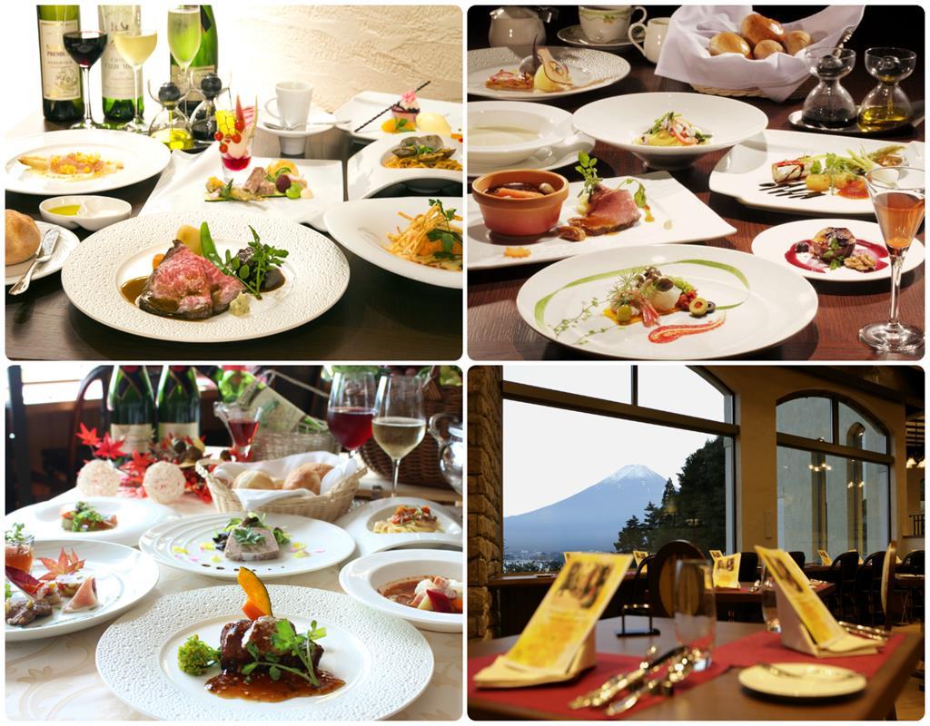 河口湖La Vista 飯店西式晚餐