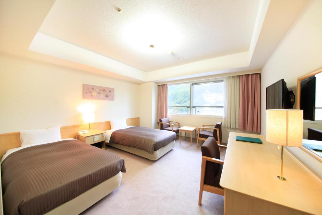 登別馬可波羅飯店洋室雙床房