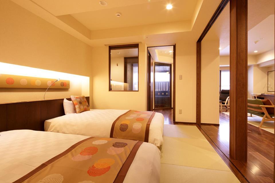 登別馬可波羅飯店高級和洋室附露天風呂「櫟」