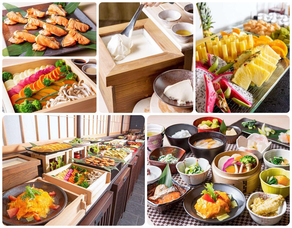 京都三井花園飯店站前店早餐