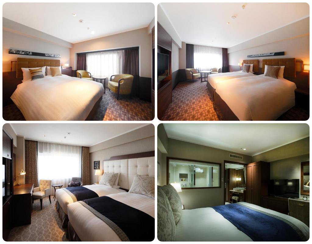 京都世紀飯店標準房型及Superior房型