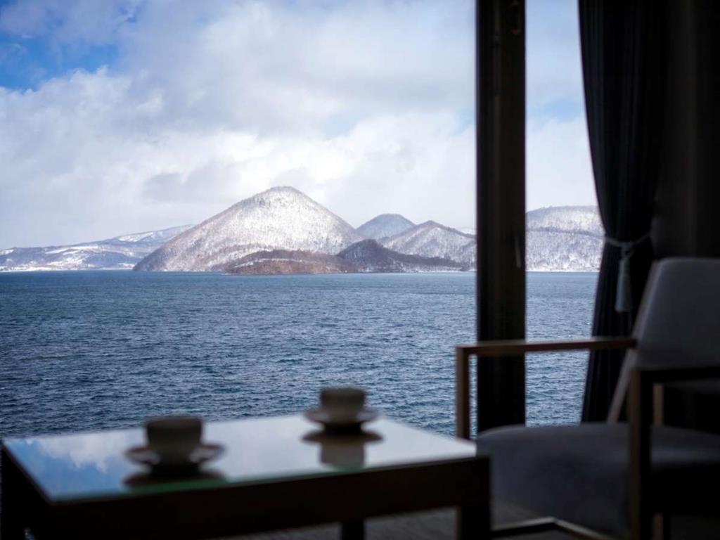 洞爺湖Toya乃之風飯店房間景
