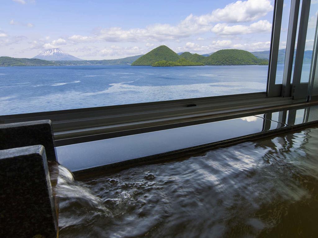 洞爺湖Toya乃之風飯店乃風俱樂部房間風呂