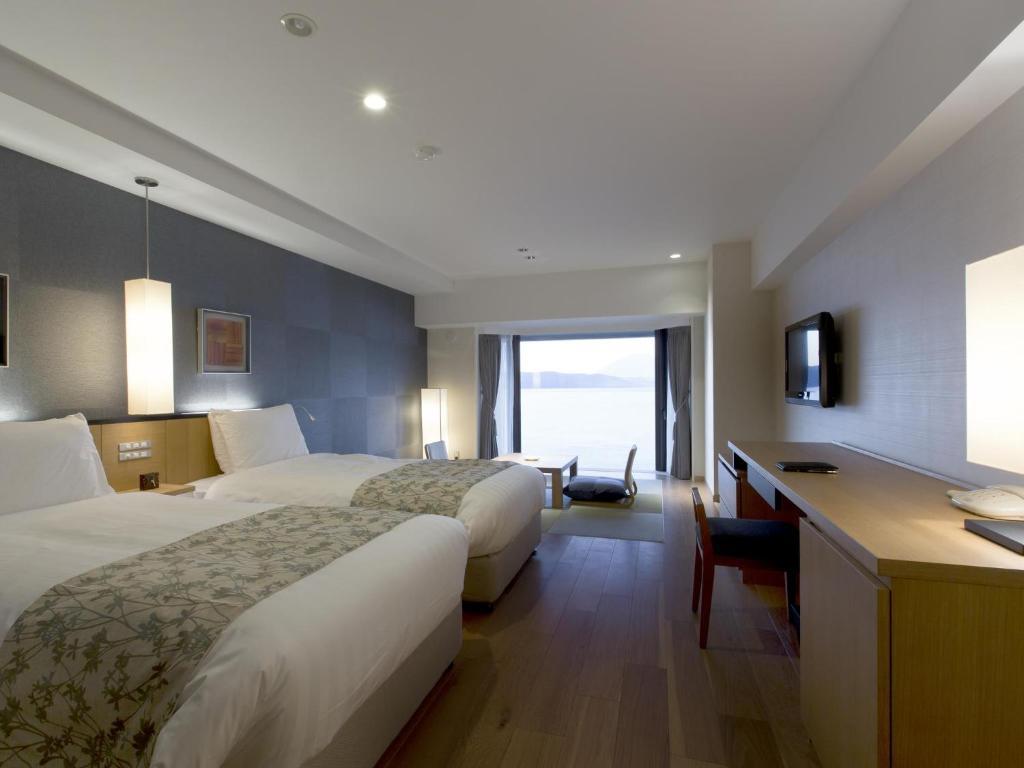 洞爺湖Toya乃之風飯店和洋室