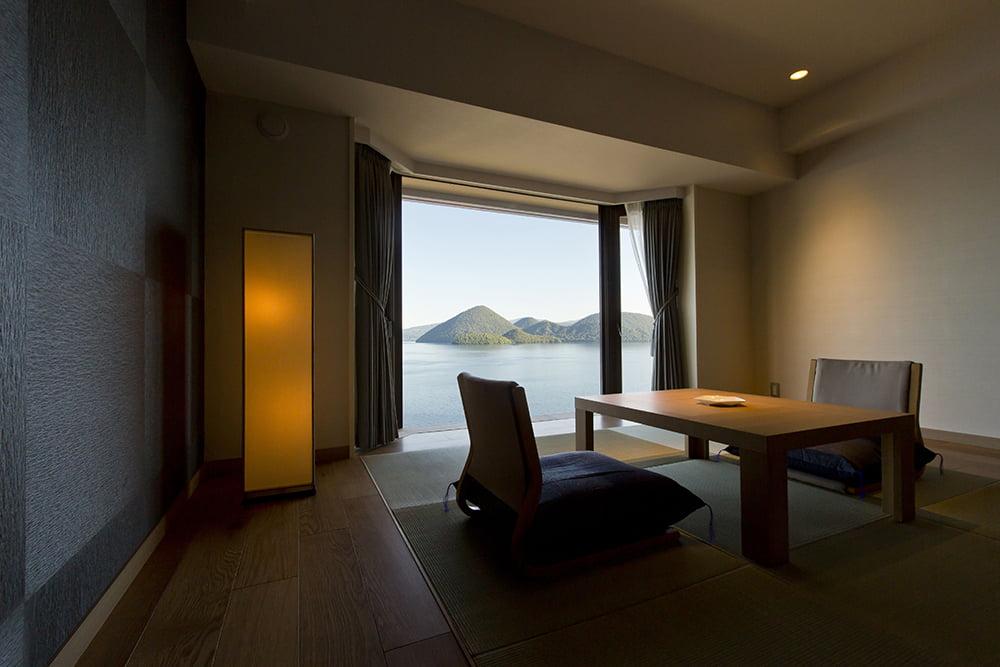 洞爺湖Toya乃之風飯店和洋室湖景