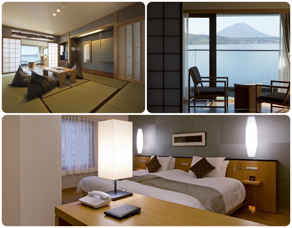 洞爺湖Toya乃之風飯店特別和洋室