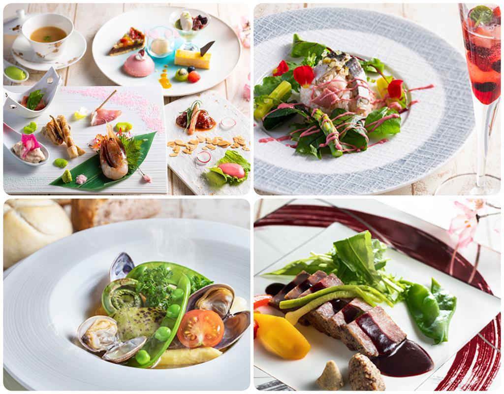洞爺湖Toya乃之風飯店風之音餐廳法式料理