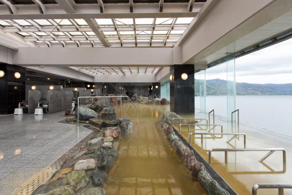 洞爺湖Toya乃之風飯店展望大浴場