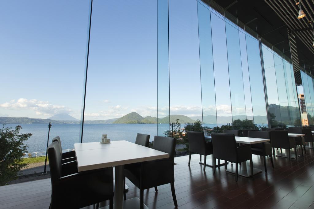 洞爺湖Toya乃之風飯店餐廳景觀