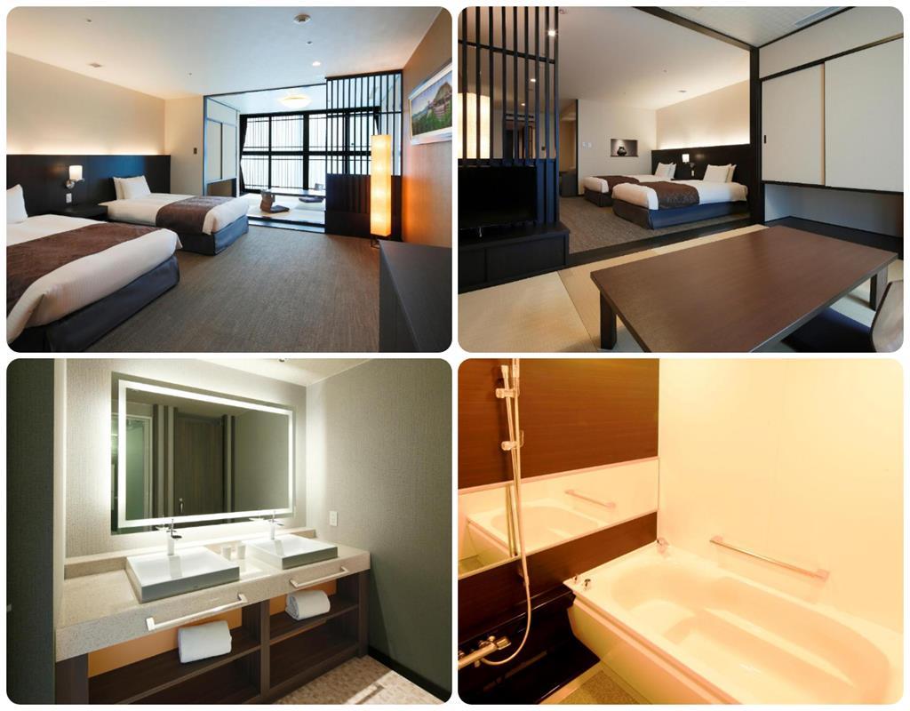 京都塔飯店和洋室