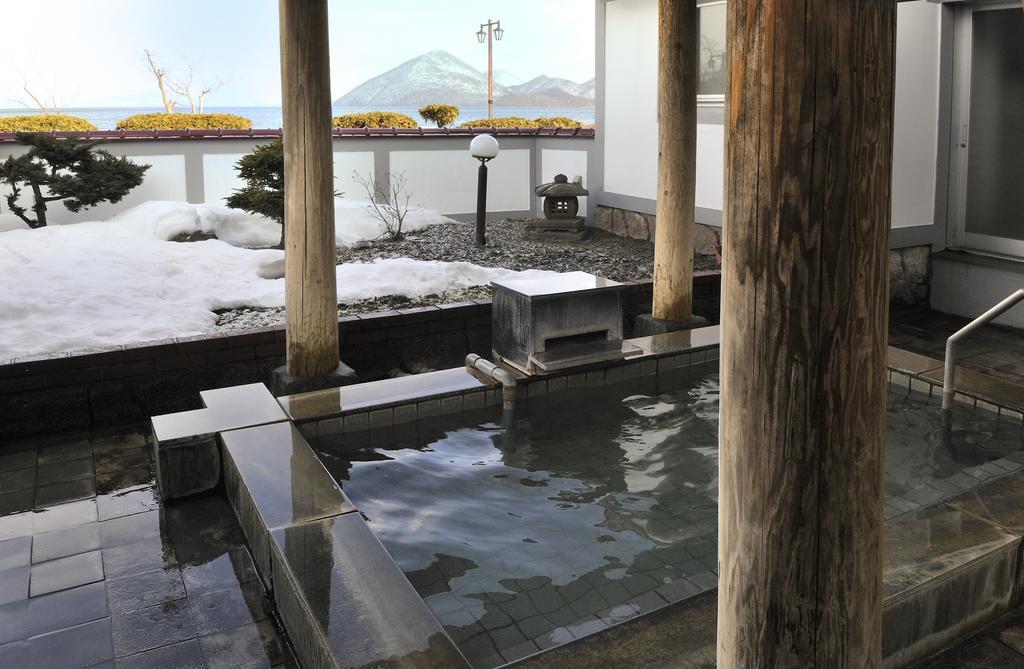 洞爺湖北海飯店露天風呂