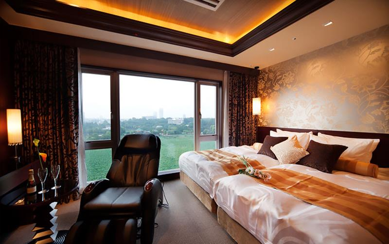 上野不忍可可大飯店景觀雙床房