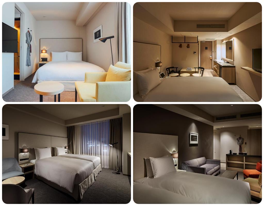 上野諾加飯店房型
