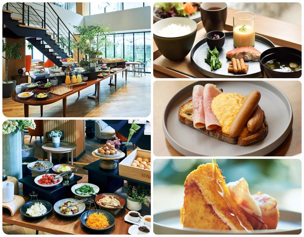 上野諾加飯店早餐