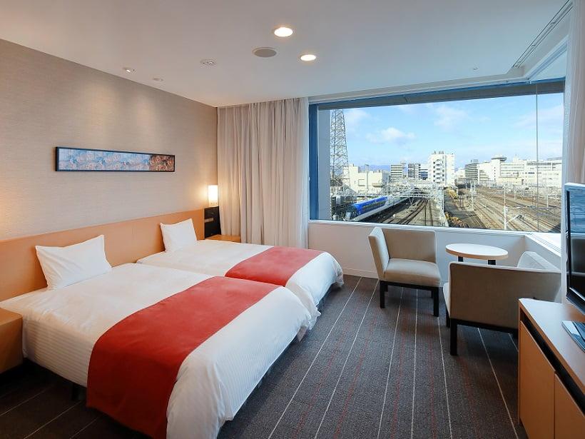 近鐵京都站都城市飯店邊間房型景觀